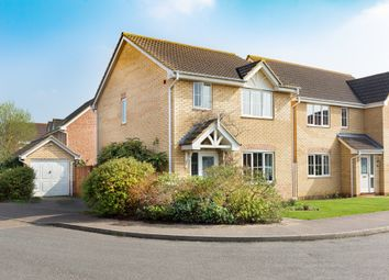 Thumbnail 3 bedroom detached house for sale in Moat Way, Swavesey, Cambridge