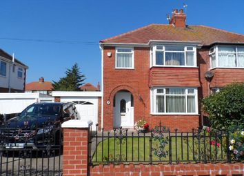 Thumbnail 3 bed semi-detached house for sale in Rutland Avenue, Cleveleys