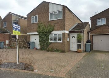 Thumbnail 4 bed detached house for sale in Hereward Way, Deeping St. James, Peterborough