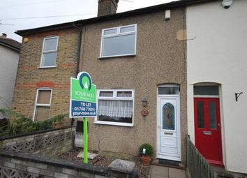 Thumbnail 2 bed terraced house to rent in Richmond Road, Romford