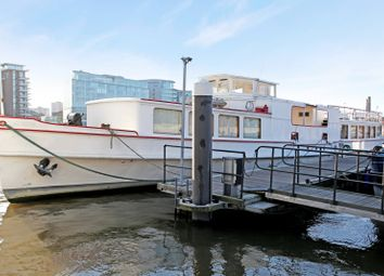 Thumbnail 1 bed houseboat for sale in Cadogan Pier, Chelsea