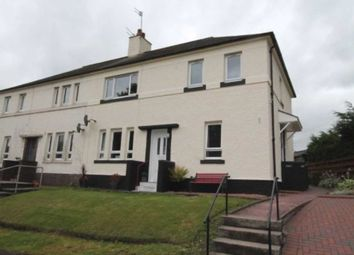 Thumbnail 2 bed flat for sale in The Grove, Kilbarchan, Johnstone