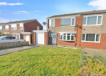 Thumbnail 3 bed semi-detached house for sale in Loraine Close, Marske-By-The-Sea, Redcar