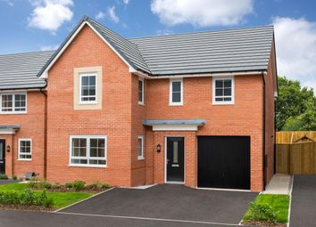 "Thumbnail 4 bed detached house for sale in ""Halton"" at Shipbrook Road, Rudheath, Northwich"