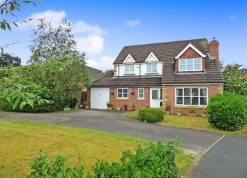 Thumbnail 4 bed detached house for sale in Dunnillow Field, Stapeley, Nantwich