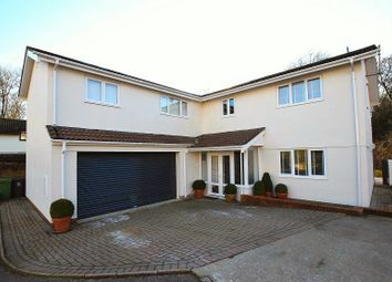 Thumbnail 5 bedroom detached house for sale in Sennybridge Crofta, Lisvane, Cardiff.