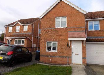 Thumbnail 2 bed semi-detached house to rent in Primrose Drive, Shildon