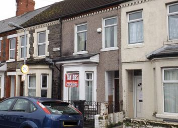 Thumbnail 3 bedroom terraced house for sale in Cottrell Road, Cardiff, Caerdydd