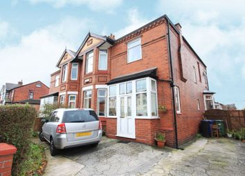 Thumbnail 5 bed semi-detached house for sale in Wellington Road North, Stockport