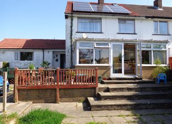 Thumbnail 4 bed semi-detached house for sale in Baillie Smith Avenue, Crumlin, Newport