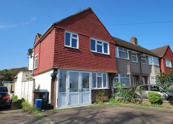 Thumbnail 3 bed end terrace house to rent in Clayton Road, Chessington