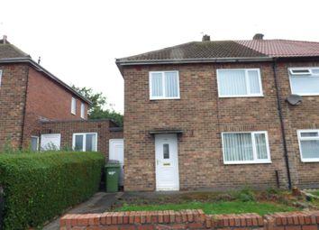 Thumbnail 3 bed semi-detached house for sale in Wood Lane, Bedlington