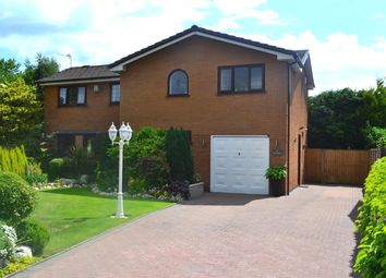 Thumbnail 4 bed detached house for sale in Crombouke Drive, Leigh