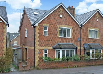 Thumbnail 4 bed semi-detached house for sale in New Road, Chilworth, Guildford