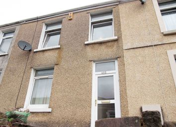 Thumbnail 3 bed terraced house to rent in Carmarthen Road, Swansea