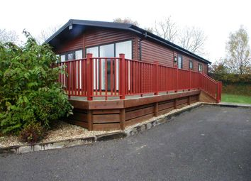 Thumbnail 3 bedroom lodge for sale in Louis Way, Dunkeswell, Honiton
