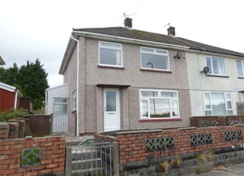 Thumbnail 3 bed semi-detached house for sale in Brynmawr, Bettws, Bridgend, Mid Glamorgan