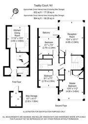 Thumbnail 3 bed duplex for sale in Roman Way, London
