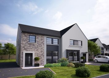 Thumbnail 4 bedroom semi-detached house for sale in Hilltops, Magheralave Road, Lisburn