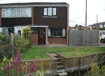 Thumbnail 2 bed terraced house to rent in Kingfishers, Grove, Wantage