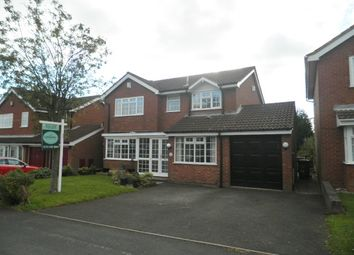 Thumbnail 4 bed detached house to rent in Shire Ridge, Walsall Wood, Walsall