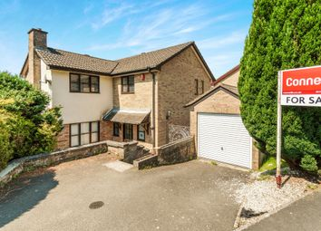 Thumbnail 4 bed detached house for sale in Warleigh Crescent, Derriford, Plymouth