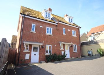 Thumbnail 3 bedroom town house to rent in Gateway Gardens, Ely