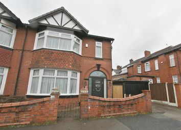 Thumbnail 6 bed semi-detached house for sale in Wilton Avenue, Prestwich, Manchester