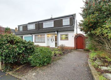 Thumbnail 3 bedroom semi-detached house for sale in Alandale Close, Reading, Berkshire