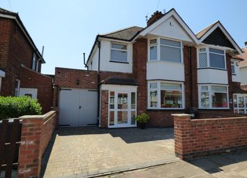Thumbnail 3 bed semi-detached house for sale in Sandringham Avenue, Belgrave, Leicester