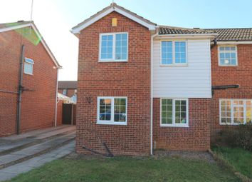 Thumbnail 3 bed semi-detached house to rent in Hoselett Field Road, Long Eaton, Nottingham