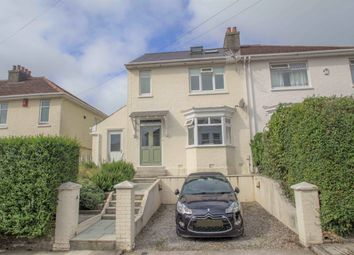 Thumbnail 3 bed semi-detached house for sale in Briar Road, Hartley, Plymouth