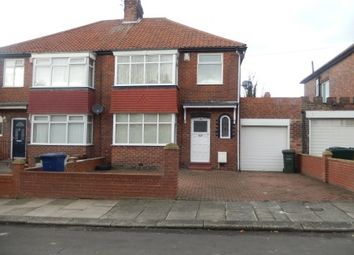 Thumbnail 3 bed semi-detached house to rent in Friarside Road, Newcastle Upon Tyne