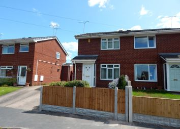 Thumbnail 2 bed semi-detached house to rent in Mercer Way, Saltney, Chester