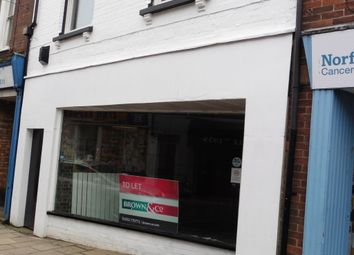 Thumbnail Retail premises to let in Norfolk Street, King's Lynn