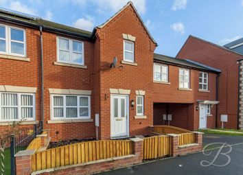 Thumbnail 3 bed town house for sale in Thoresby Road, Mansfield Woodhouse, Mansfield