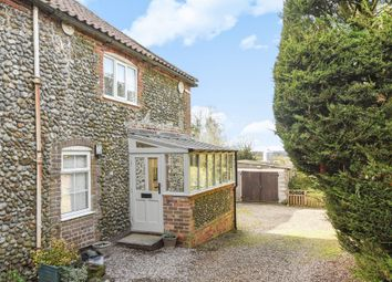 Thumbnail 2 bed cottage for sale in The Street, Hempstead, Holt