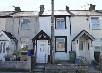 Thumbnail 1 bed terraced house for sale in Glan Gwna Terrace, Caeathro, Caernarfon