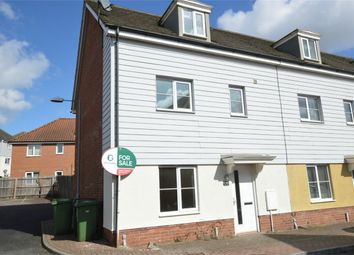 Thumbnail 4 bed town house for sale in Magnolia Way, Queens Hill, Costessey, Norwich