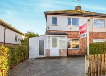 Thumbnail 2 bed semi-detached house for sale in Halifax Drive, Stocking Farm, Leicester