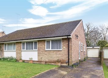 Thumbnail 2 bedroom semi-detached bungalow for sale in Burgh Close, Crawley