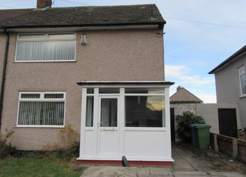 Thumbnail 2 bed semi-detached house to rent in Redruth Road, Liverpool