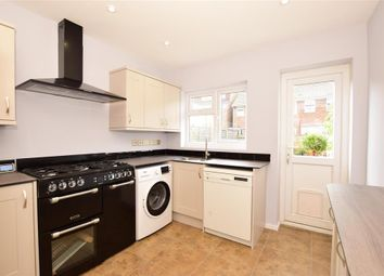 Thumbnail 3 bed terraced house for sale in Richmond Street, Cheriton, Folkestone, Kent