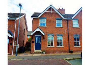 Thumbnail 3 bedroom town house for sale in Ardvanagh Brae, Newtownards