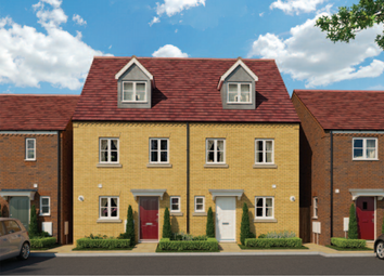 Thumbnail 3 bed terraced house for sale in Derwent Way, Spalding