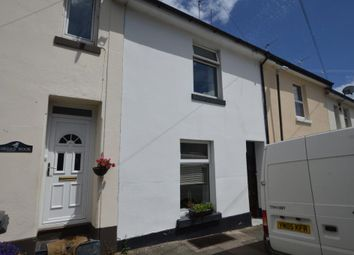 Thumbnail 3 bed terraced house for sale in Wellesley Road, Torquay, Devon