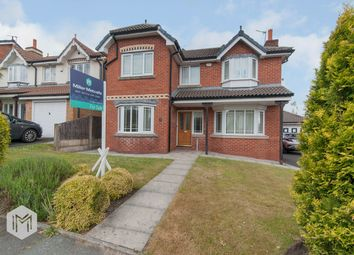 Thumbnail 4 bed detached house for sale in Oakworth Drive, Bolton
