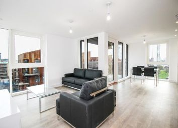 Thumbnail 2 bed flat to rent in Oslo Tower, Greenland Place, Naomi Street, London