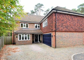 Thumbnail 6 bed detached house for sale in Upper Chobham Road, Camberley, Surrey