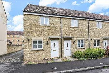 Thumbnail 2 bed terraced house for sale in Grouse Road, Calne, Wiltshire